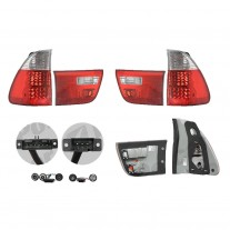 Stop spate  lampa TUNING Bmw X5 (E53)  01.2003-10.2006 BestAutoVest partea Dreapta+Stanga cu LED