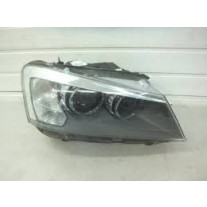 Far Bmw X3 (F25), 11.2010-, electric, tip bec D2S+LED, are motoras, omologare ECE, 63117276992; 7276992, Dreapta