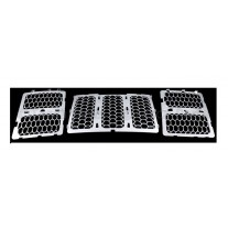 Grila radiator Jeep Grand Cherokee (Wl), 04.2013-, crom, 68143075AB, 34T105-4 Model SUMMIT