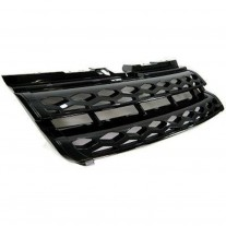 Grila radiator Land Rover Range Rover Evoque, 03.2011- Model Dynamic, parte montare centrala, neagra, 43Y105-2, Aftermarket