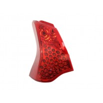Stop spate lampa Peugeot 3008, 08.09-10.13, spate, omologare ECE, cu suport bec, exterior, 6350HC, Stanga