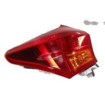 Stop spate lampa Toyota Camry (Xv40), 09-09.11, spate, omologare SAE, exterior, tip usa, 81551-33530, Dreapta