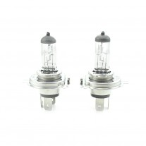 Set de 2 becuri halogen 24V - H4 75w/70W , +50% intensitate - long life, 1 set, BHA043