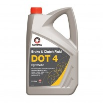 Lichid de frana COMMA DOT 4 Synthetic, 5 litru