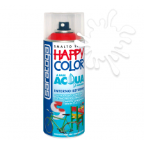 Spray vopsea Transparent Mat HappyColor Acqua pe baza de apa, 400ml