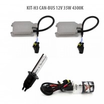 Kit HID xenon H3 Can-Bus 12V 35W 4300K