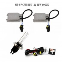 Kit HID xenon H7 CAN-BUS 12V 35W 6000K