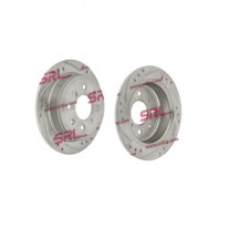Set discuri frana spate Rover/Mg 200 Cupe (Xw), 10.1992-06.1999, marca SRLine S71-1094S