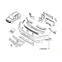 Convergent Stanga Duster Renault 214990059R