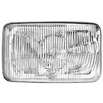 Dispersor sticla far MAN L2000 1993- M2000 1996-, M90/ F90 1986-, F8/F9 1980- AL Automotive lighting partea Dreapta/ Stanga