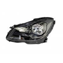 Far Mercedes Clasa C (W204) 03.2011- AL Automotive lighting partea Dreapta, tip bec H7+H7, culoare Anthracite bezel