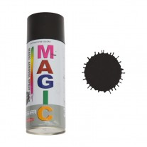 Spray vopsea MAGIC Negru mat , 400 ml.