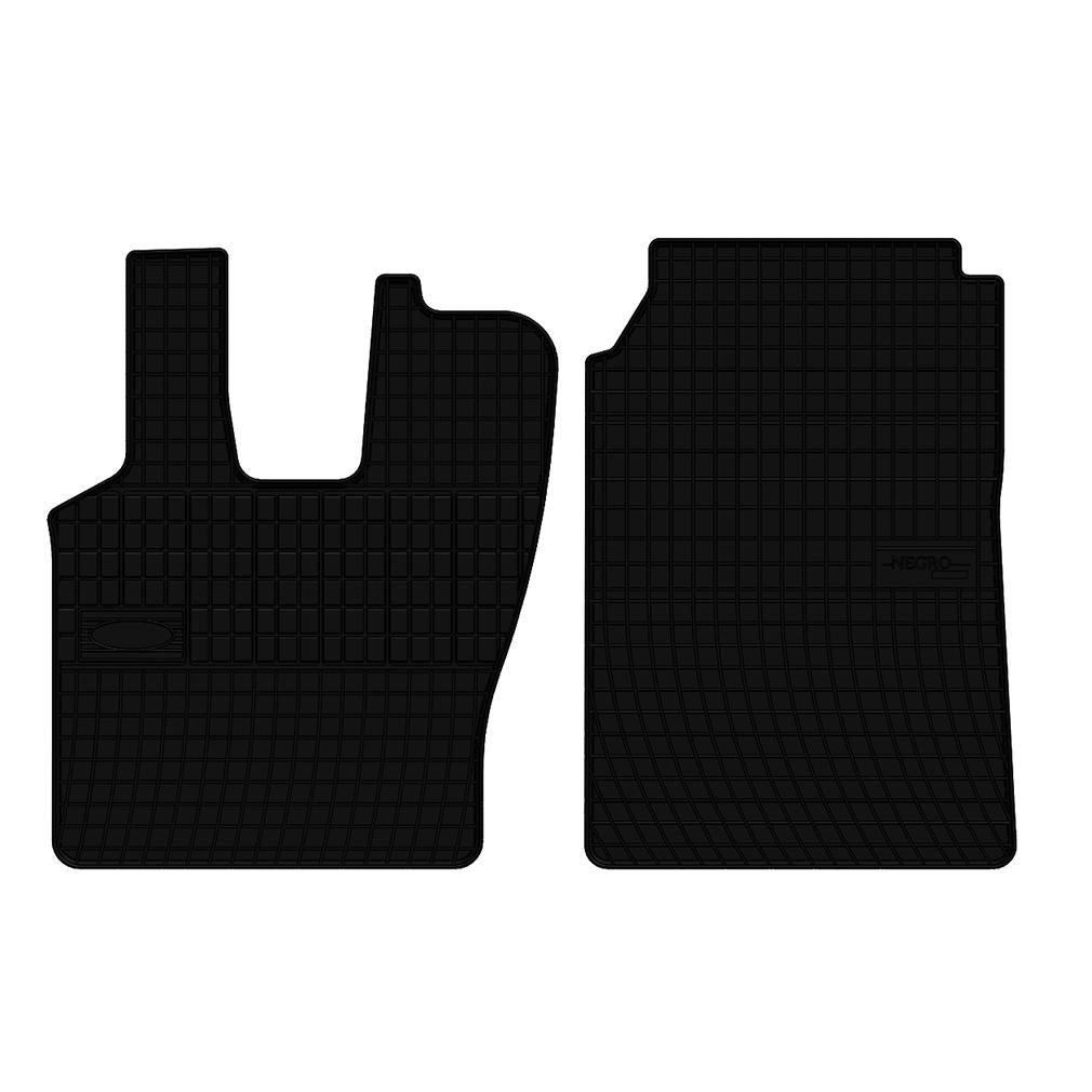 Set covorase auto din cauciuc Scania L 1995-2004 , presuri negre , 2 buc.