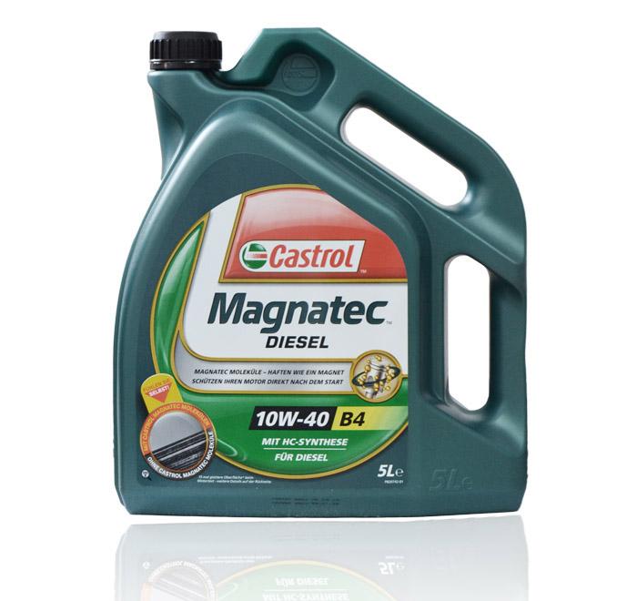 Ulei motor Castrol Magnatec Diesel B4 10W40 5 litri