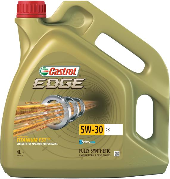 Ulei motor Castrol Edge TITANIUM FST 5W30 C3 4 litri, sintetic, ACEA C3, API SN, BMW LL-04, GM dexos2, MB 229.31/229.51, Renault RN 0700/0710, VW 504 00/507 00