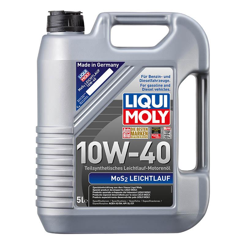 Ulei motor Liqui Moly 10W40 MoS2 5 litri