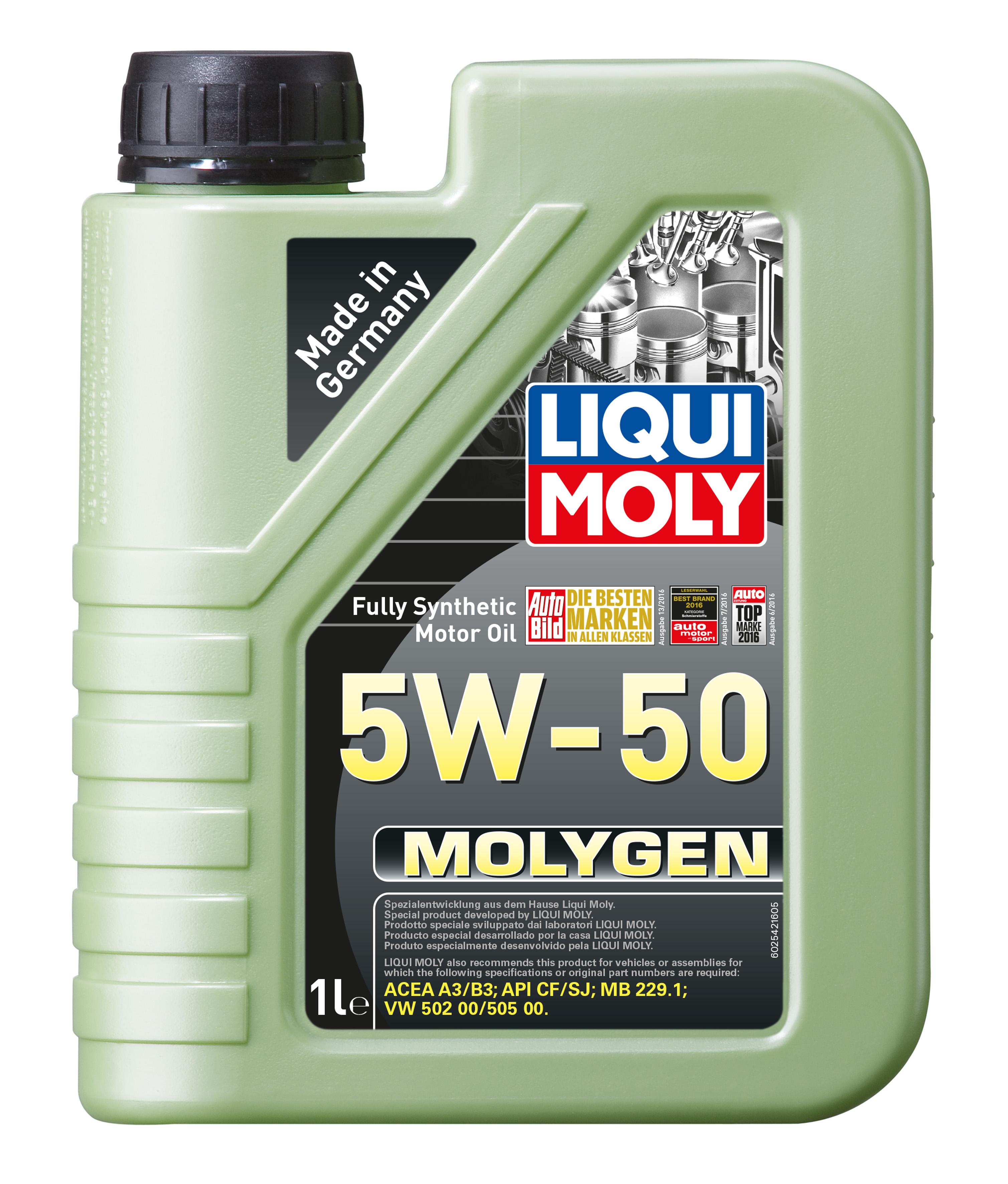 Ulei motor Liqui Moly 5W50 Molygen 1L